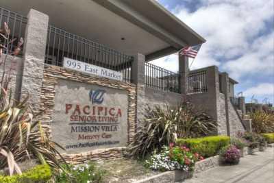 Pacifica Senior Living Mission Villa Community Entrance