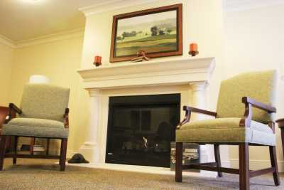 Great Falls Assisted Living A Memory Care Community Fireplace