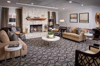 Belmont Village Hollywood Hills Fireplace