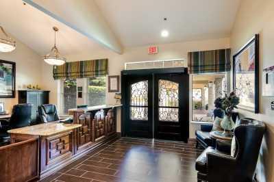 Pacifica Senior Living Modesto Lobby