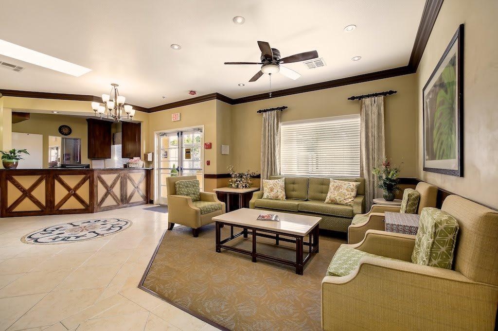 Pacifica Senior Living: Riverside Legacies Memory Care Indoor Common Area