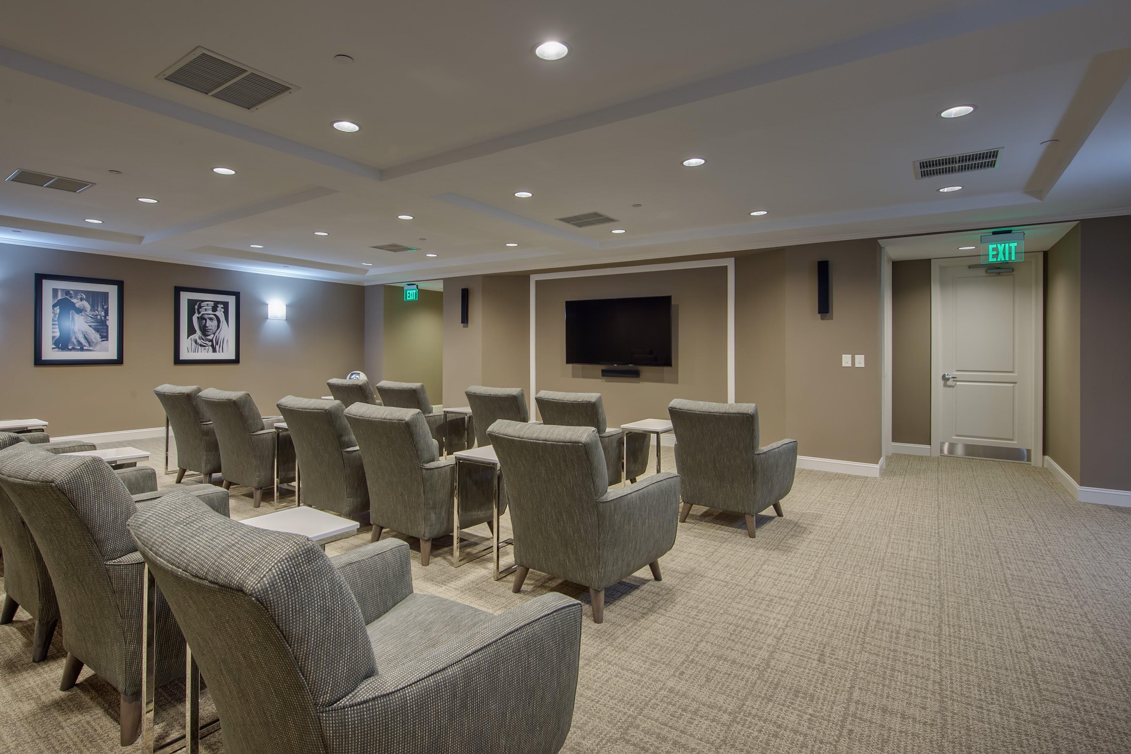 Somerby Franklin Movie Room