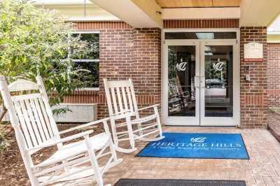 Pacifica Senior Living Heritage Hills Community Entrance
