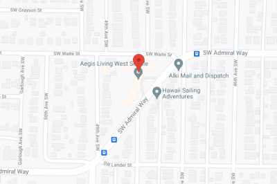 Aegis of West Seattle in google map