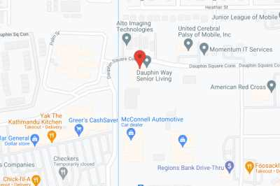 Dauphin Way Assisted Living Facility in google map