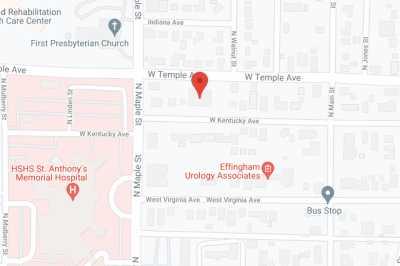Brookstone Suites of Effingham in google map