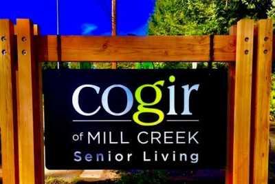 Cogir of Mill Creek Community Sign
