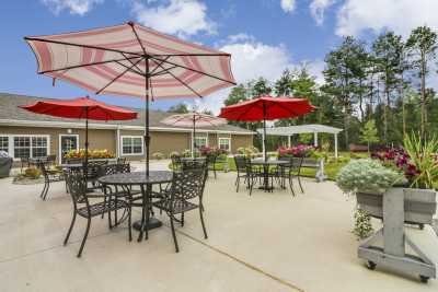 Candlestone Assisted Living & Memory Care Outdoor Common Area