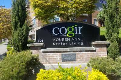 Cogir of Queen Anne Entrance