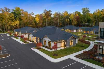 Anthology of Mayfield Heights NOW OPEN aerial community view