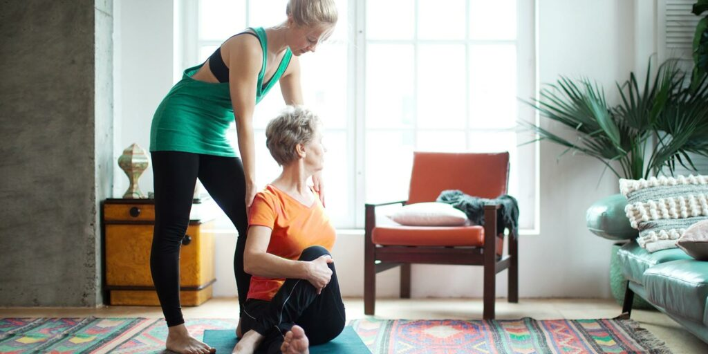 7 Best Yoga Poses For Seniors And Adults A Place For Mom