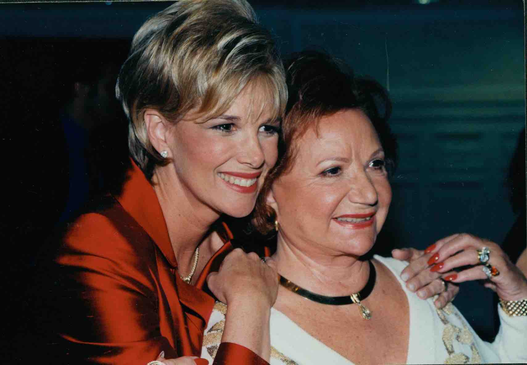 Joan Lunden and her mom, Gladyce