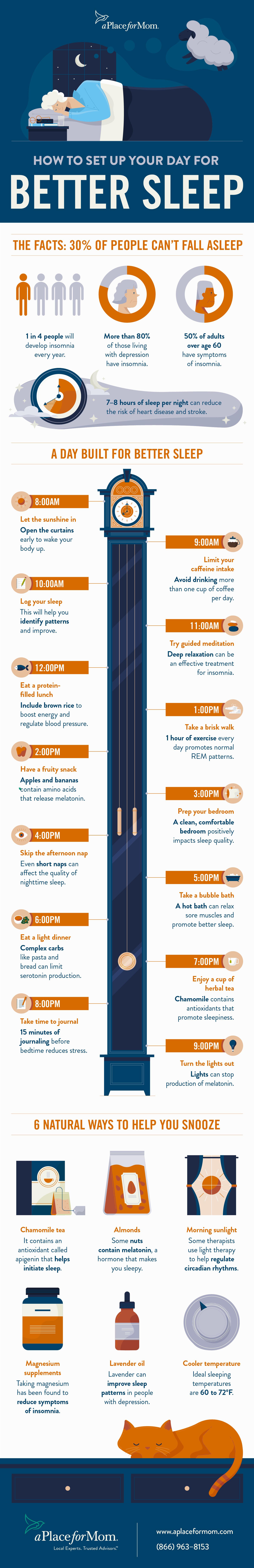 Senior Insomnia Infographic
