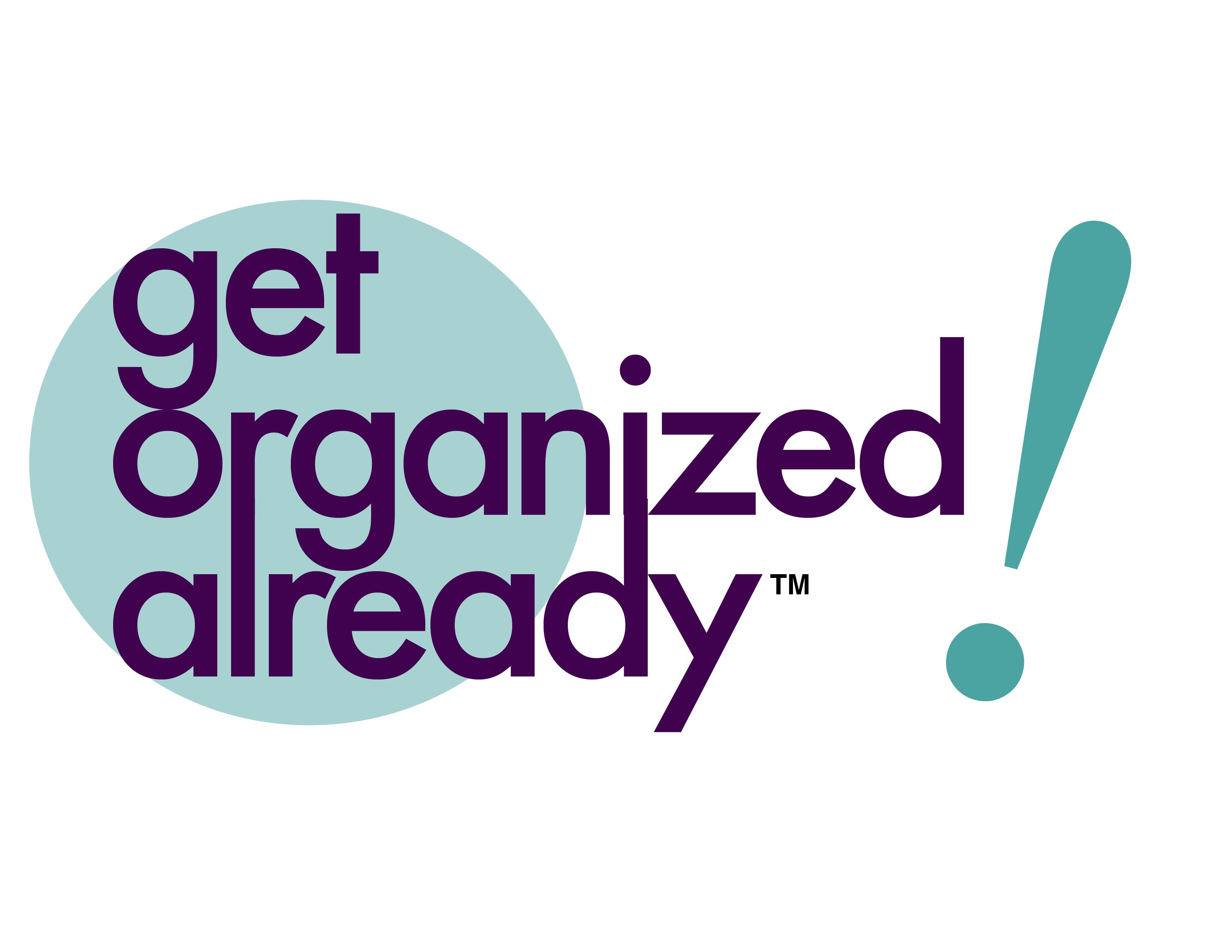 Get Organized Already